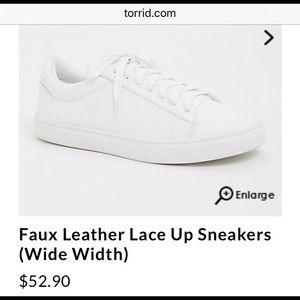 Torrid White Shoes